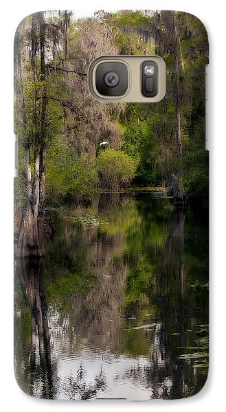 Galaxy Case featuring the photograph Hillsborough River In March by Steven Sparks