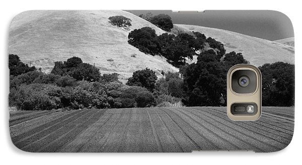 Galaxy Case featuring the photograph Hillside Farmland by Kathleen Grace