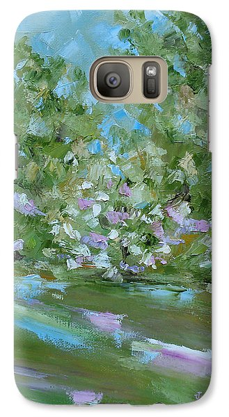 Galaxy Case featuring the painting Hilltop by Judith Rhue