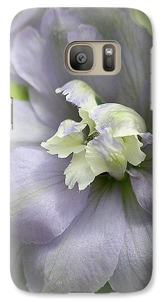 Galaxy Case featuring the photograph His Tender Touch by The Art Of Marilyn Ridoutt-Greene