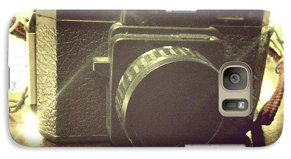 Galaxy Case featuring the photograph Holga by Nina Prommer