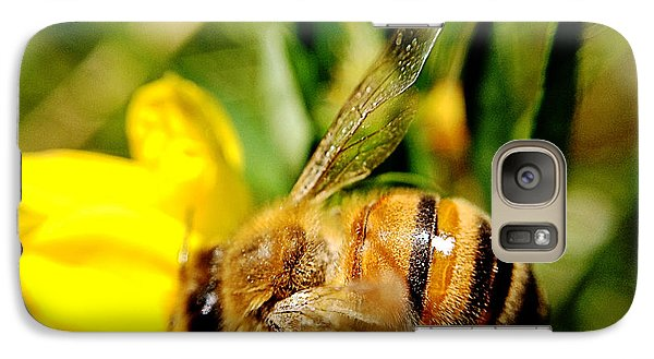 Galaxy Case featuring the photograph Honey Bee by Chriss Pagani
