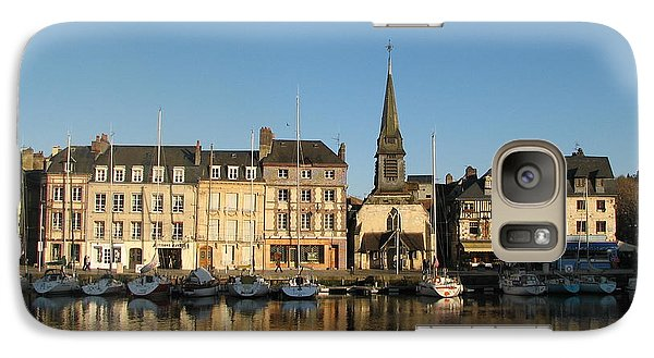 Galaxy Case featuring the photograph Honfleur  by Carla Parris