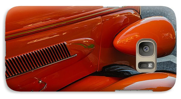 Galaxy Case featuring the photograph Hot Rod Orange by Ken Stanback