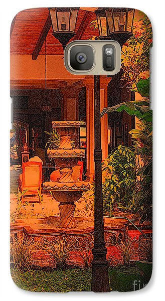 Galaxy Case featuring the photograph Hotel Alhambra by Lydia Holly