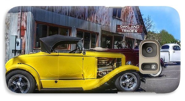 Galaxy Case featuring the photograph Hotrods At The Trader by Tyra  OBryant