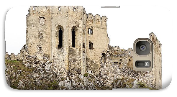 Galaxy Case featuring the photograph Hrad Beckov Castle by Les Palenik