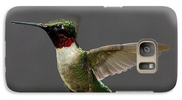 Galaxy Case featuring the photograph Hummingbird 1 by John Crothers