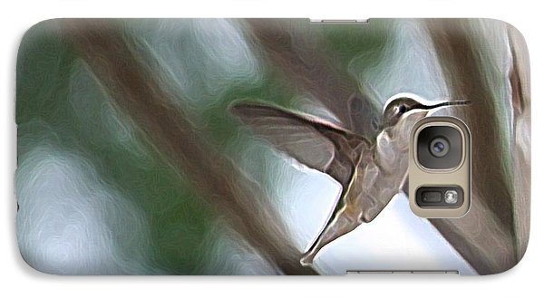 Galaxy Case featuring the photograph Hummingbird by Donna  Smith