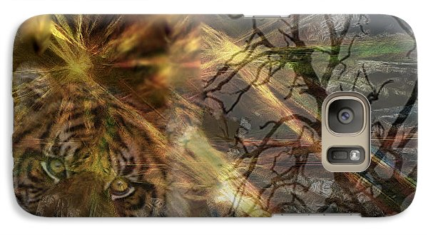 Galaxy Case featuring the photograph Hunter by EricaMaxine  Price