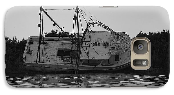 Galaxy Case featuring the photograph Hurricane Boat by Luana K Perez