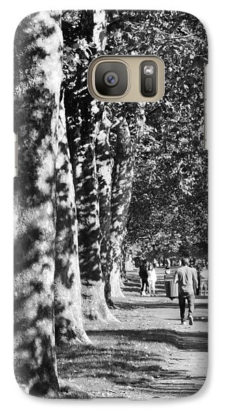 Galaxy Case featuring the photograph Hyde Park Trees by Maj Seda