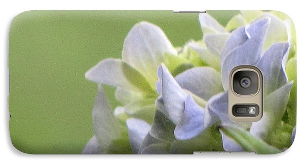 Galaxy Case featuring the photograph Hydrangea Blossom by Katie Wing Vigil