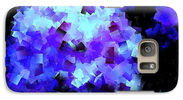 Galaxy Case featuring the photograph Hydrangea Cubed by Greg Moores