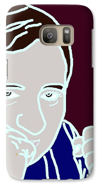Galaxy Case featuring the digital art I Am A Fighter by Ester  Rogers