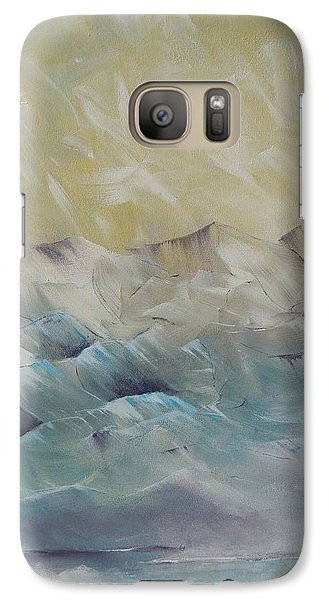 Galaxy Case featuring the painting I Like It When It's Cold  by Dan Whittemore