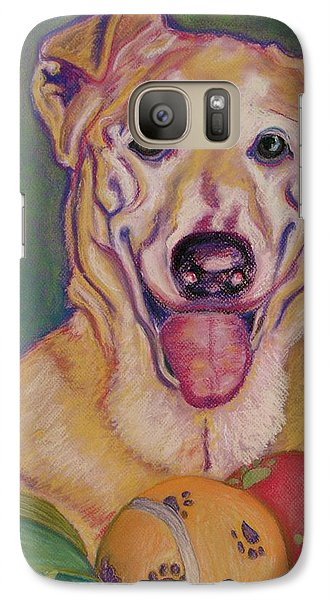 Galaxy Case featuring the pastel I Share by D Renee Wilson