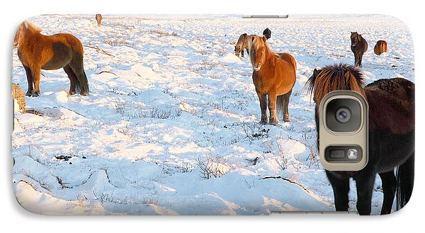 Galaxy Case featuring the photograph Iceland by Milena Boeva