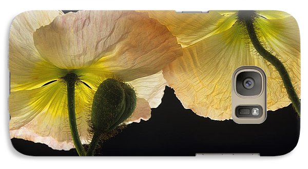 Galaxy Case featuring the photograph Iceland Poppies 2 by Susan Rovira