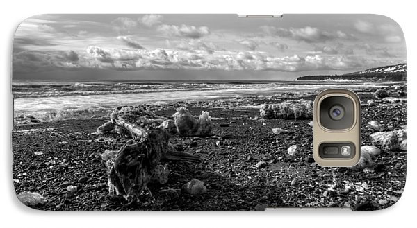 Galaxy Case featuring the photograph Icy Alaskan Beach by Michele Cornelius