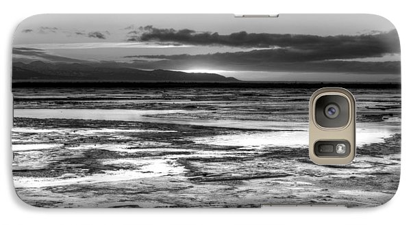 Galaxy Case featuring the photograph Icy Bay At Sunset by Michele Cornelius
