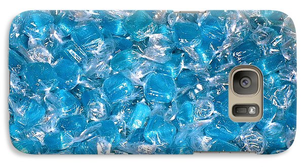Galaxy Case featuring the photograph Ice Blues by Beth Saffer