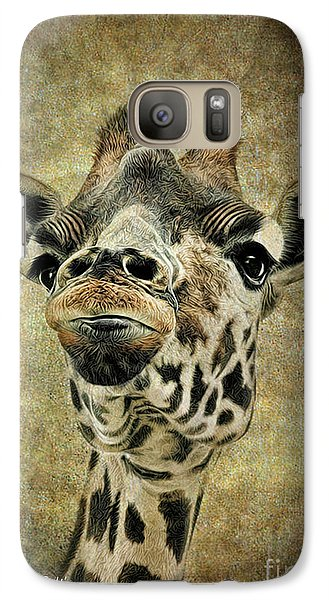 Galaxy Case featuring the photograph If You've Got It...flaunt It by Sami Martin
