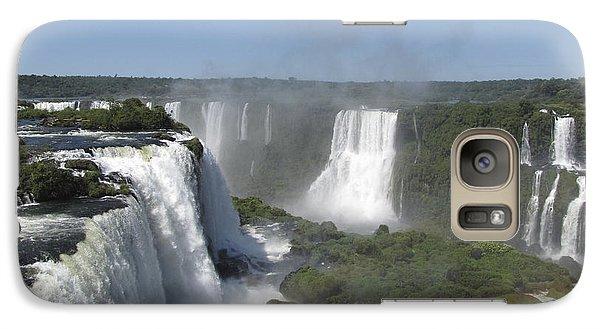 Galaxy Case featuring the photograph Iguazu Falls by David Gleeson