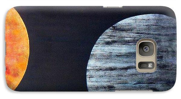 Galaxy Case featuring the painting Illumination by Barbara Moignard