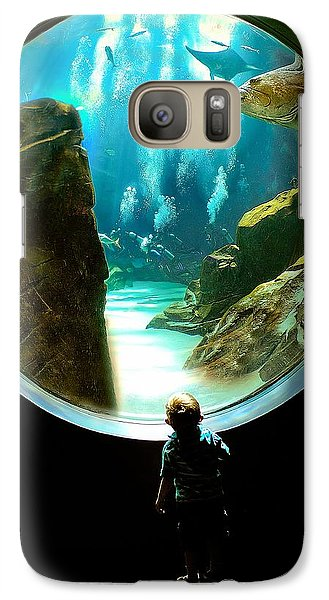 Galaxy Case featuring the photograph Imagination by Anna Rumiantseva