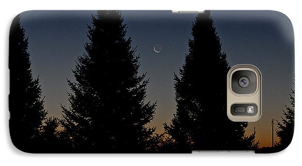 Galaxy Case featuring the photograph Impending Sunrise by Penny Meyers