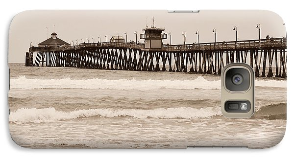 Galaxy Case featuring the photograph Imperial Beach by Rima Biswas