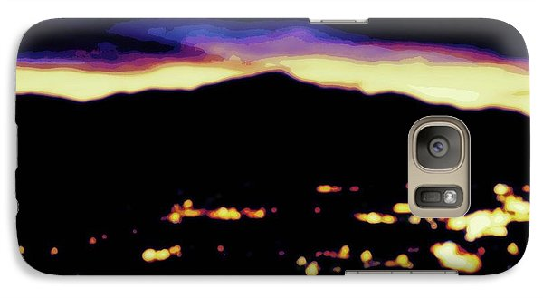 Galaxy Case featuring the photograph Impressionistic Pikes Peak by Clarice  Lakota