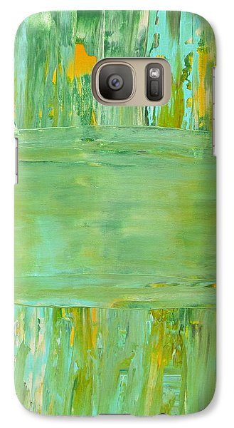Galaxy Case featuring the painting Impulse by Kathy Sheeran