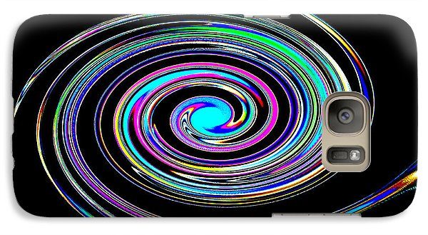 Galaxy Case featuring the photograph In A Whirl by Steve Purnell