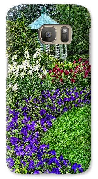 Galaxy Case featuring the photograph In Full Bloom by Cindy Haggerty