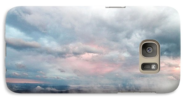 Galaxy Case featuring the photograph In The Clouds by Jeannette Hunt