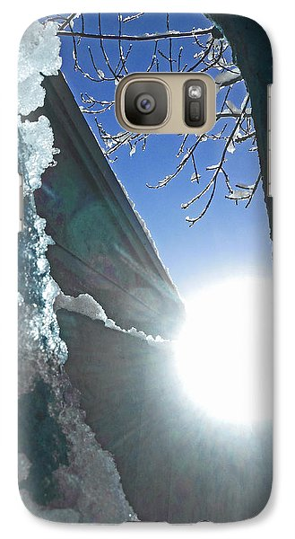 Galaxy Case featuring the photograph In The Cold Of The Sun by Steve Taylor