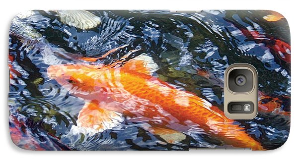 Galaxy Case featuring the photograph In The Mix by Dan Menta