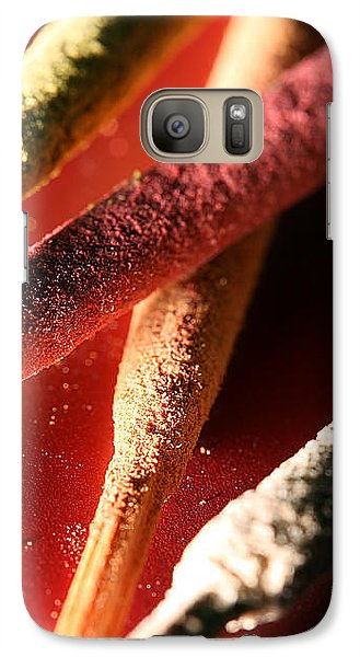 Galaxy Case featuring the photograph Incense by Lauren Radke