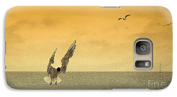 Galaxy Case featuring the photograph Incoming by Linsey Williams