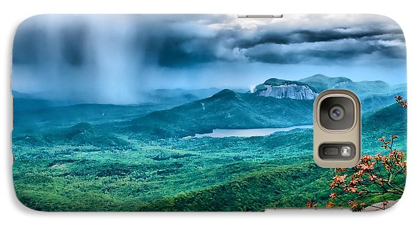 Galaxy Case featuring the photograph Incoming Storm by Lynne Jenkins