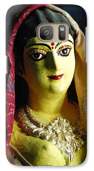 Galaxy Case featuring the photograph Indian Beauty by Fotosas Photography