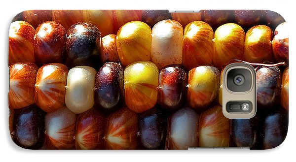 Galaxy Case featuring the photograph Indian Corn by Barbara McMahon
