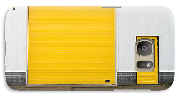 Galaxy Case featuring the photograph Industrial Warehouse by Hans Engbers