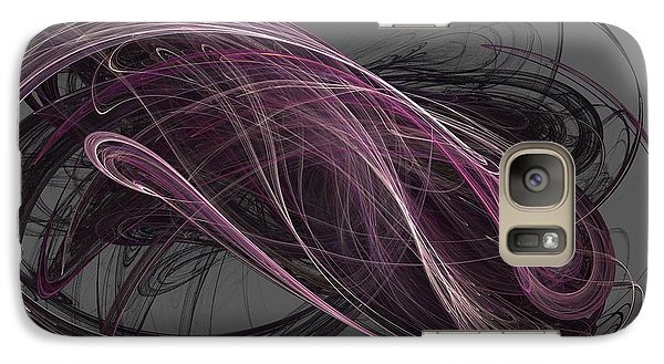 Galaxy Case featuring the digital art Infinity by Kim Sy Ok