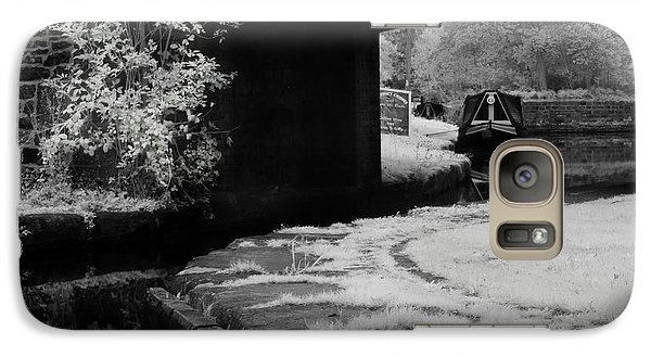 Galaxy Case featuring the photograph Infrared At Llangollen Canal by Beverly Cash