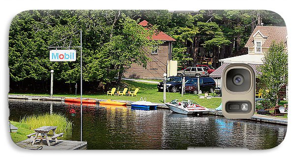 Galaxy Case featuring the photograph Inlet On Seven Lakes by Ann Murphy