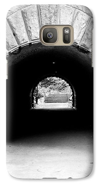 Galaxy Case featuring the photograph Inscope Arch by Michael Dorn