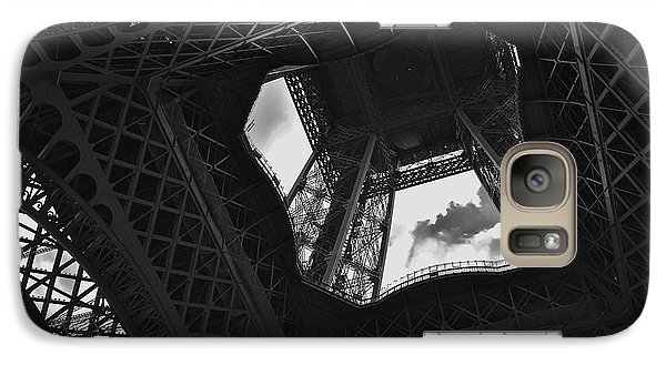 Galaxy Case featuring the photograph Inside The Eiffel Tower by Eric Tressler